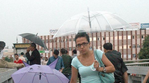 Fotoğraflar// Yağmur Ve Fırtına Hayatı Olumsuz Etkiledi