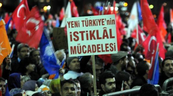 Fotoğraflar//başbakan Erdoğan Atatürk Havalimani'nda Partililere Seslendi