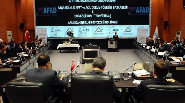 Fotoğraflar//başbakanlik Afet Ve Acil Durum Yönetimi Başkanliği Ile Boğaziçi Konut Yönetimi Işbirliği Protokolü Imza Töreni