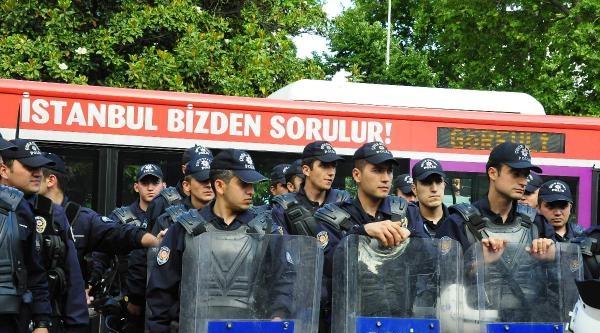 Fotoğraflar//beşiktaş'ta Polis Önlemi
