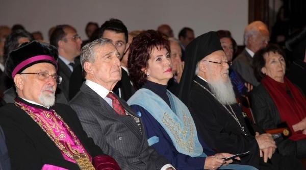 Fotoğraflar//boğaziçi Üniversitesi'nden Patrik Bartholomeos'a Fahri Doktora