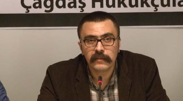 Fotoğraflar//cezaevinden Tahliye Olan Avukatlar Basın Açıklaması Yaptı