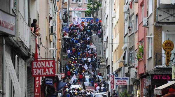 Fotoğraflar//istanbul Beşiktaş'ta Polis Müdahalesi
