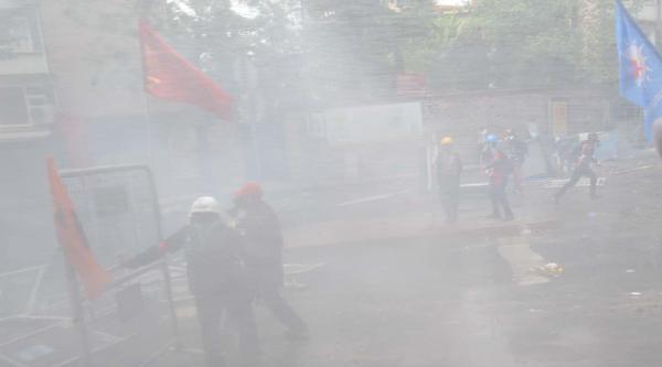 Fotoğraflar//istanbul'da 1 Mayıs; Şişli-bomonti'de Müdahale