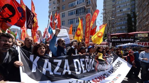 Fotoğraflar//istanbul'da Soma Faciası Eylemi