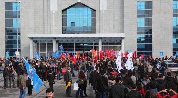 Fotoğraflar//kartal'daki Anadolu Adalet Sarayinda Olay
