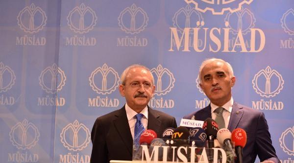 Fotoğraflar//kılıçdaroğlu Müsiad'ı Ziyaret Etti