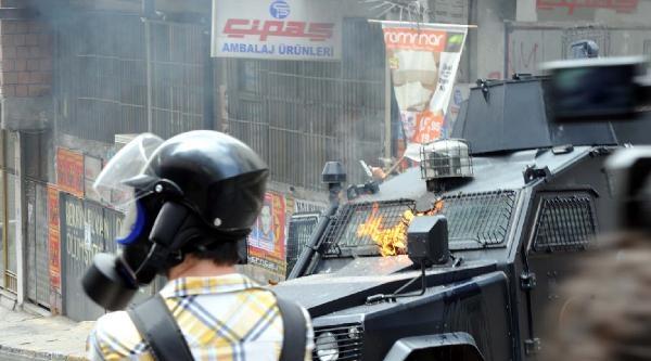Fotoğraflar//okmeydanı'nda Olaylar Çikti
