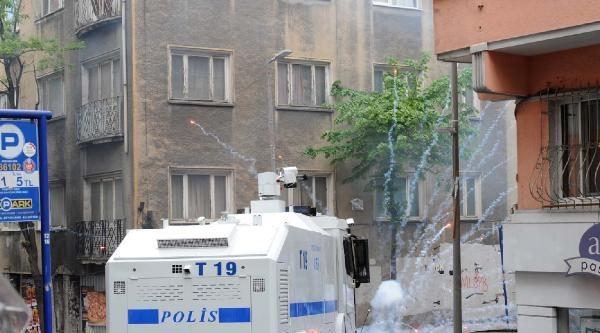 Fotoğraflar//şişli-feriköy'de Polisle Çatiştilar