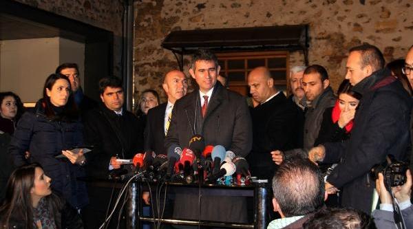 Fotoğraflar//türkiye Barolar Birliği Başkani Feyzioğlu Başbakan Erdoğan Görüşmesi