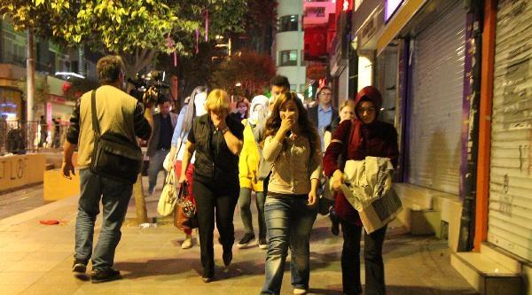 (fotoğraflı)  Kadıköy'de Polis Müdahalesi