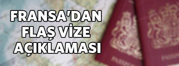 Fransa: Vize almayı kolaylaştırdık