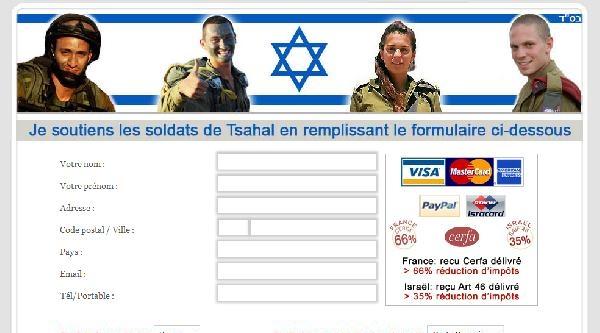 Fransa'dan İsrail Ordusuna Yapılan Maddi Yardımlarda Yüze 66 Vergi İndirimi
