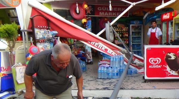 Freni Boşalan Turist Otobüsü Rampada Kaydı
