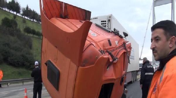 Fsm'de Tır Kazası (1)