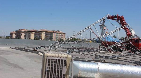 Fuar Çadiri Çöktü, 3 İşçi Yaralı / Ek Fotoğraflar