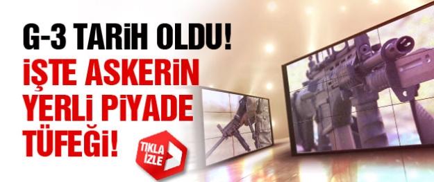 G-3 tarih oldu! İşte Türk askerinin yeni piyade tüfeği!