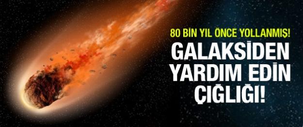 Galaksiden yardım edin mesajı!
