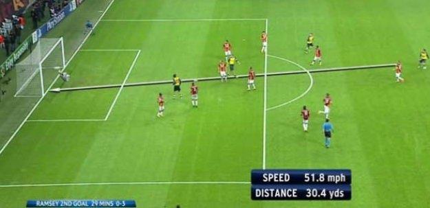 Galatasaray'a attığı gol sezona damga vurdu!