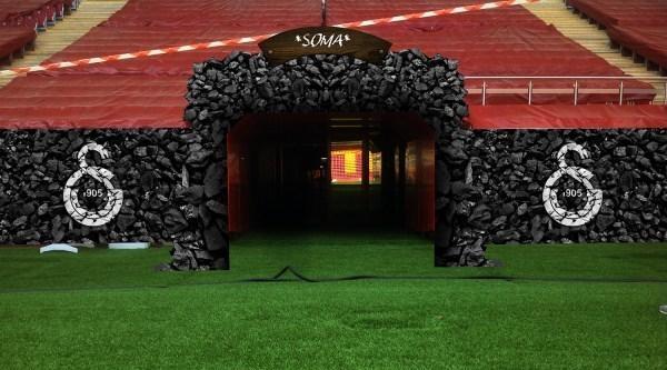 Galatasaray, Arena'nın Çikiş Tünelini Kömür Karası Yapıyor