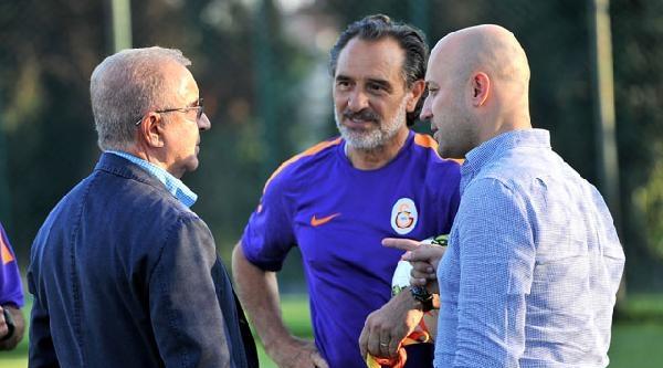 Galatasaray Başkanı Aysal Antrenmanı İzledi
