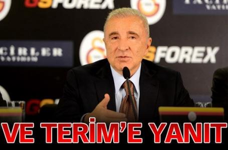 Galatasaray Başkanı Ünal Aysal, teknik direktör Fatih Terim'in açıklamaları sonrası NTV Spor'a konuştu