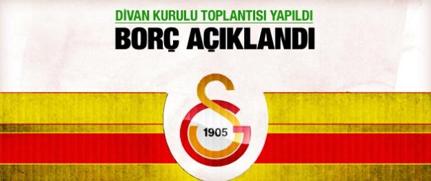 Galatasaray borç rakamı açıklandı!