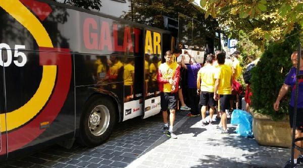 Galatasaray Budapeşte'ye Geldi