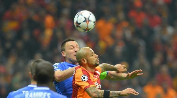 Galatasaray - Chelsea Maçının Fotoğrafları (ek)