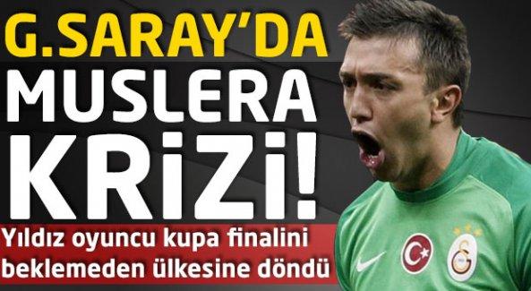 Galatasaray'da Muslera krizi! Gitti...
