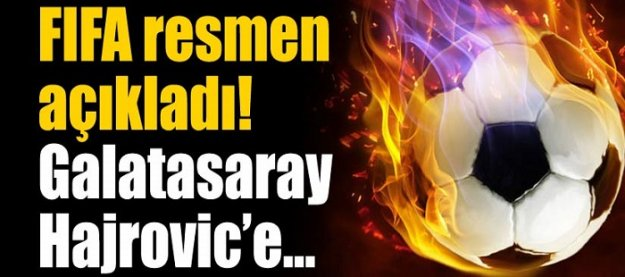 Galatasaray, Hajrovic'e 92 bin 500 euro ödeyecek