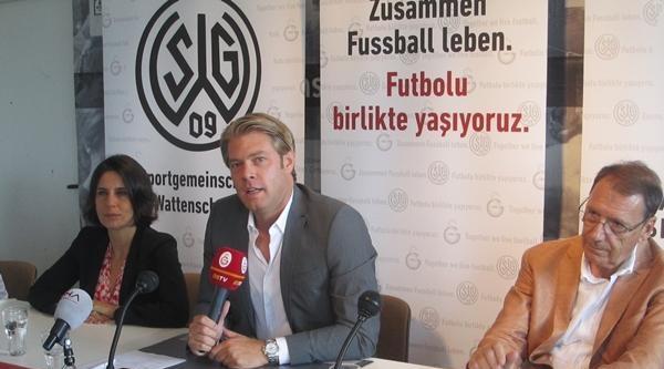 Galatasaray İle Wattenscheıd 09 Arasında Yapılan Anlaşma Tanıtıldı