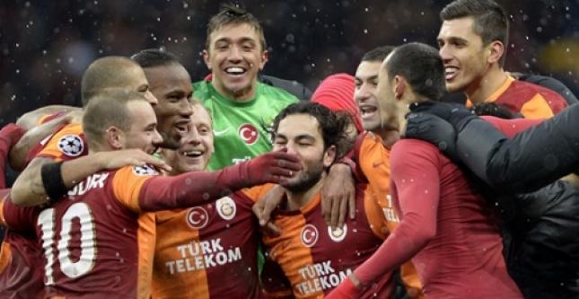 Galatasaray, Juventus'u 1-0 Yendi...