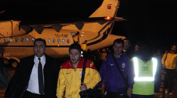 Galatasaray Kastamonu'da Coşkuyla Karşılandı
