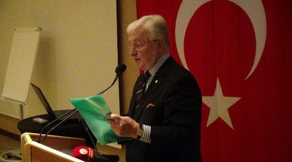 Galatasaray Kulübü Başkani Ünal Aysal, Cenevre'de Aedag Üyeleri Ile Buluştu