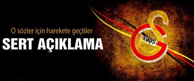 Galatasaray Kulübü'nden sert açıklama