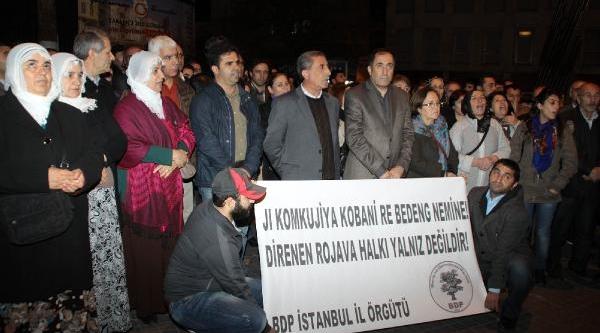 Galatasaray Meydani'nda Rojova Eylemi