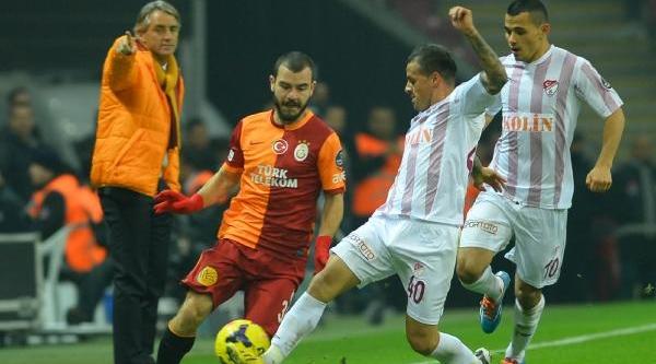 Galatasaray - Sanica Boru Elaziğspor Maçinin Fotoğraflari (Ek)