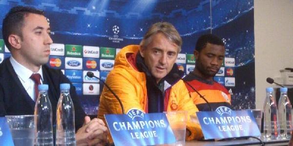 Galatasaray Teknik Direktörü Mancini: Şampiyonlar Ligi'nden Beklentim Yüksek