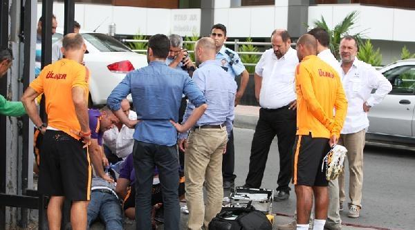 Galatasaray Tesisleri'nde Feci Kaza !..haberinin Fotoğrafları