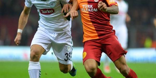 Galatasaray - Torku Konyaspor Maçi Fotoğraflari