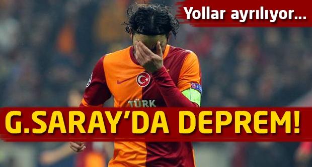 Galatasaray'da deprem! Yollar ayrılıyor!