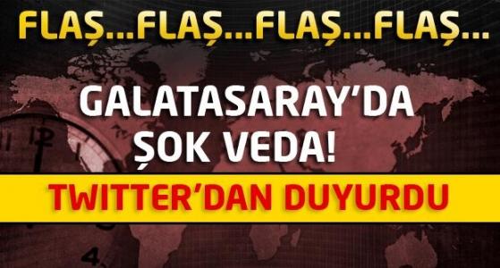 Galatasaray'da Şok Veda!