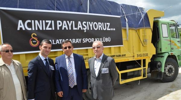 Galatasaray'dan Soma'ya Anlamlı Destek