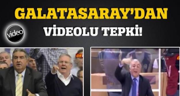 Galatasaray'dan Videolu Tepki