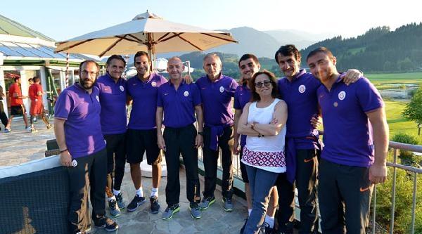 Galatasaray'ın Avusturya Kampında Barbekü Partisi