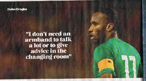 Galatasaray'ın Fildişili Sahili Oyuncusu Sports Dergisine Kapak Oldu