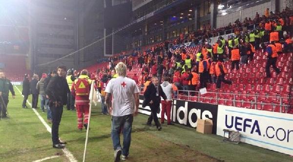 Galatasaray'in Kopenhag'da Tutuklanan Taraftari Serbest