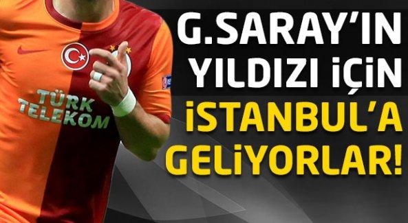 Galatasaray'ın yıldızı için İstanbul'a geliyorlar!