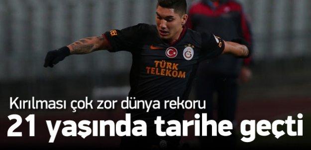 Galatasaraylı Ontivero dünya rekoru kırdı!